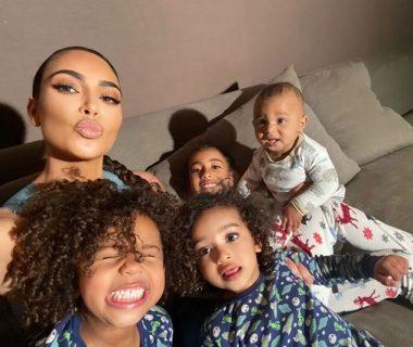 Kim Kardashian & kids