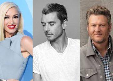 Gwen Stefani Gavin Rossdale blake shelton