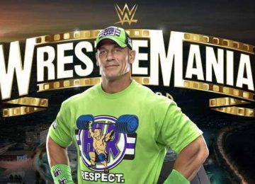 John Cena Wrestlemania 37