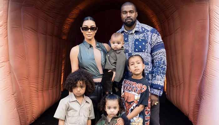 Kim Kardashian Kanye West Kids