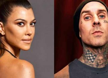 Kourtney Kardashian Travis Barker Valentine