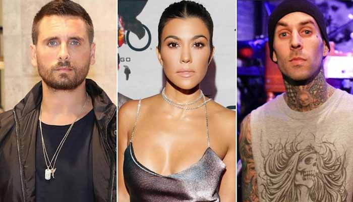 Scott Disick Kourtney Kardashian Travis Barker