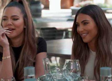 Kim and Khloe Kardashian-